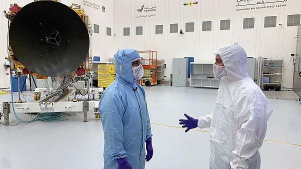"""مهمة مسبار """"الأمل"""" إلى المريخ تمضي في استعداداتها من أجل الحد من التلوث"""