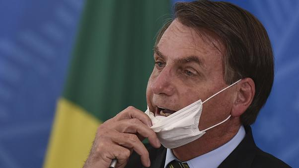 Brazilian President Jair Bolsonaro has criticized some state governors for imposing lockdown measures