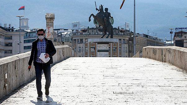 COVID-19: Τρίτος νεκρός στη Βόρεια Μακεδονία