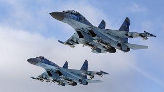 Rus savaş uçağı Su-27