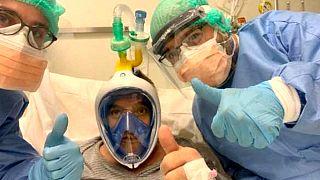 İtalyan mühendisler dalış maskesini solunum cihazına dönüştürdü; proje internetten indirilebilir