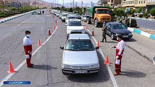 هلال احمر ایران: ۹ هزار مسافر مشکوک به کرونا در جادهها شناسایی شدند