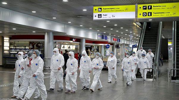 روسیه برای مقابله با شیوع ویروس کرونا تمام پروازهای بین المللی را لغو کرد