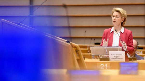 Statement of Ursula von der Leyen, President of the European Commission, to the European Parliament Plenary on the European coordinated response to Covid-19