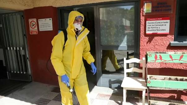 Coronavirus-Krise in Spanien - Ausgangsverbot bis 11. April verlängert