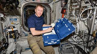 Tim Peake is among those who will give tips on living in isolation