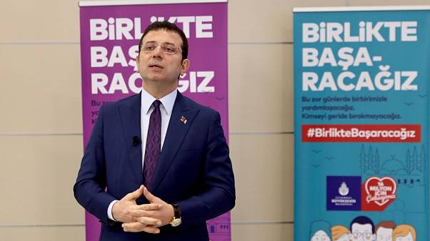 İstanbul Büyükşehir Belediye (İBB) Başkanı Ekrem İmamoğlu