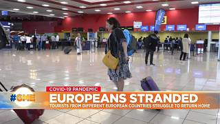 Stranded Europeans plea for help getting home amid COVID-19 pandemic