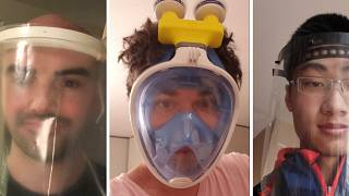 Coronavius: Amid a shortage of masks, these innovators are creating alternatives