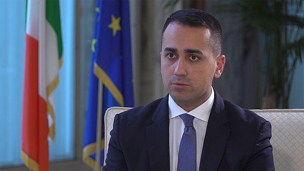 """Luigi di Maio: """"Os 'eurobonds' são uma grande oportunidade para a Europa"""""""