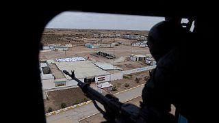 خروج نیروهای ائتلاف به رهبری آمریکا از پایگاه قیاره عراق آغاز شد