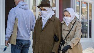 Virus Outbreak Daily Life Washington