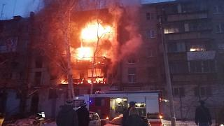В Магнитогорске в пятиэтажке произошел взрыв