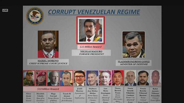 15 Millionen Dollar: USA setzen Kopfgeld auf Maduro aus