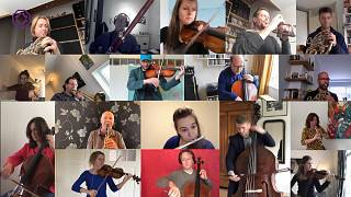 Confinement concerto as isolating musicians play Beethoven from home
