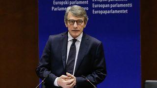 David Sassoli, az Európai Parlament elnöke