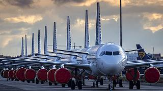 Koronavirüs nedeniyle hava trafiği azaldı