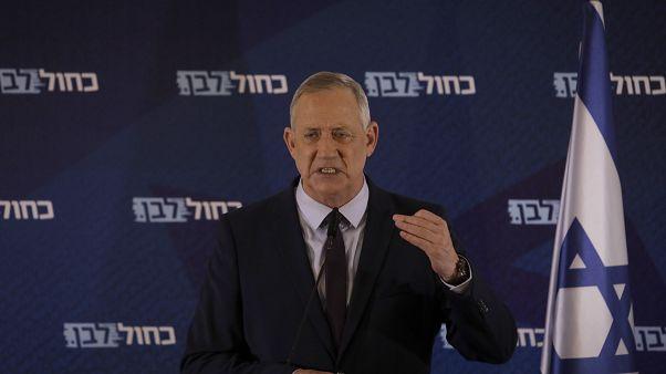 رئيس الكنيست الإسرائيلي بيني غانتس