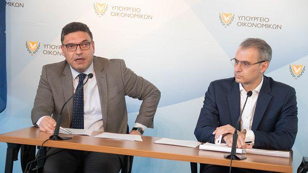 Υπουργός Οικονομικών – Διοικητής Κεντρικής Τράπεζας Υπουργείο Οικονομικών, Λευκωσία, Κύπρος