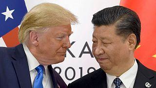 رئیس جمهوری آمریکا و رئیس جمهوری چین