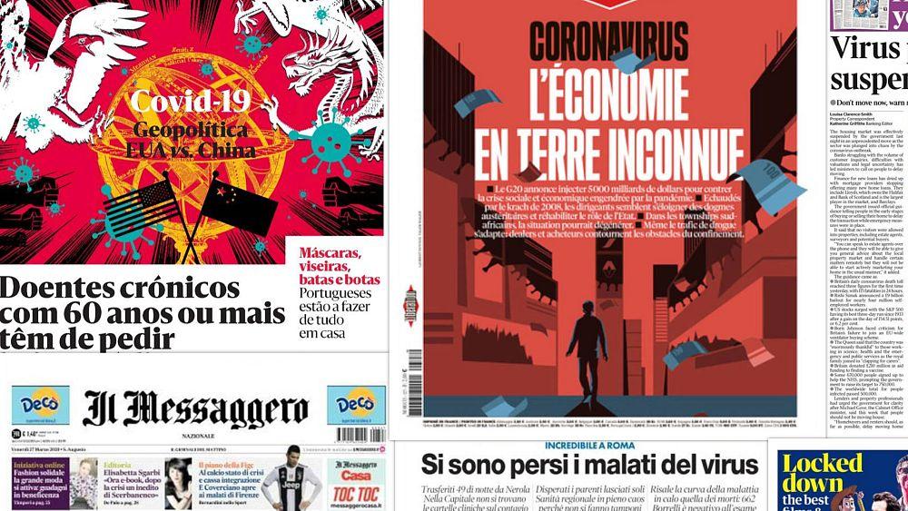 Los líderes de la UE disputan, los casos de COVID-19 se disparan, España devuelve pruebas defectuosas: titulares en toda Europa 1