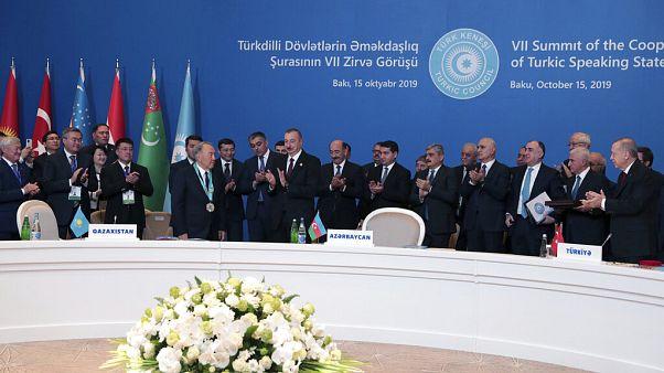 A Türk Tanács csúcstalálkozója 2019 októberében