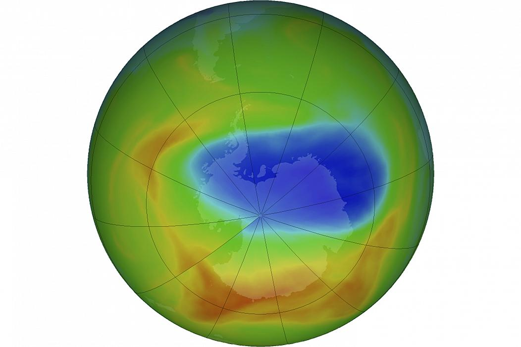 Earth's ozone layer appears to be healing