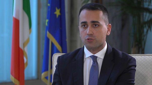 """Di Maio im Euronews-Interview: """"Wir können die Krise nicht bewältigen"""""""