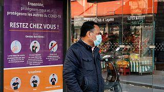 Franceses vão ter de continuar em distanciamento social para lá de 31 de março