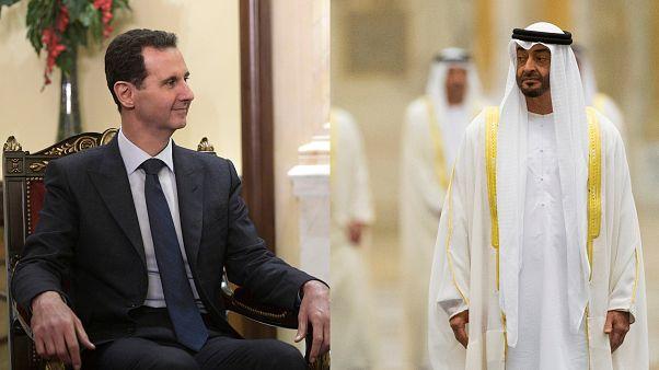 Abu Dabi veliaht prensi uzun süre sonra ilk kez Beşşar Esad ile telefonda görüştü