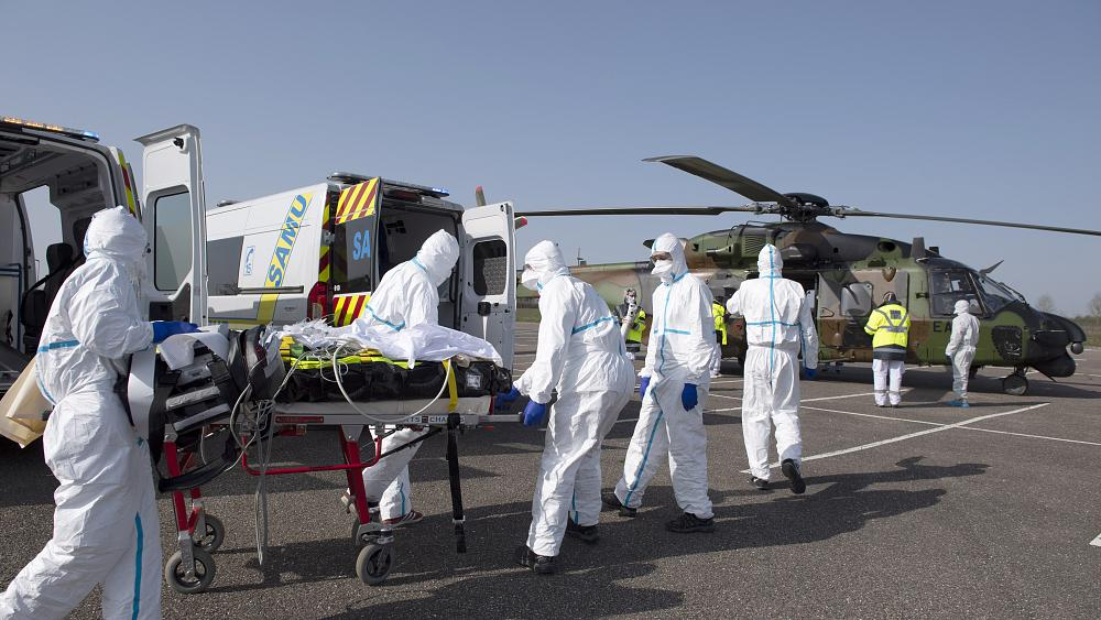 Eight COVID-19 patients flown from France, Italy to German hospitals