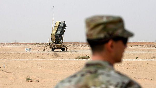 عکس تزئینی است (سامانه دفاع موشکی آمریکایی پاتریوت در نزدیکی ریاض، پایتخت عربستان سعودی)