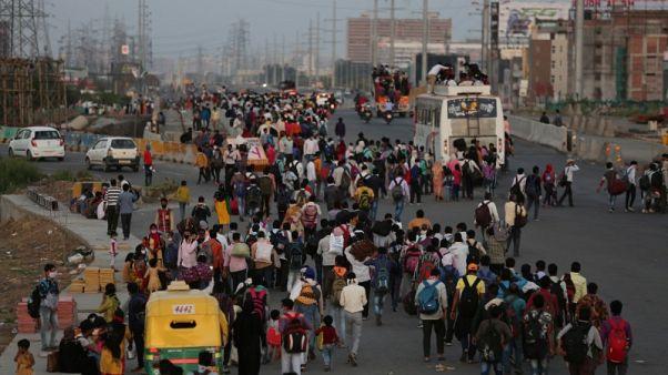 Szigorúan kontrollált karantén Indiában