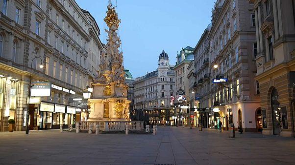 Чумная колонна в Вене.