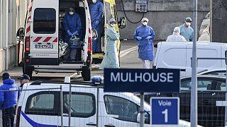 Mulhouse, Covid-19 salgını