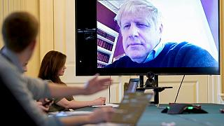 بوریس جانسون، نخست وزیر بریتانیا در قرنطینه