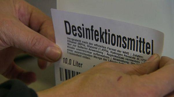Hochprozentige Hilfe: In Lustenau wird aus Schnaps Desinfektionsmittel