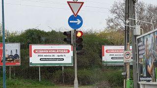 Nem változtatott a magyarok életén a kijárási korlátozás