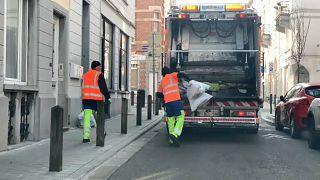 Bélgica adapta recolha de lixo para evitar contaminação