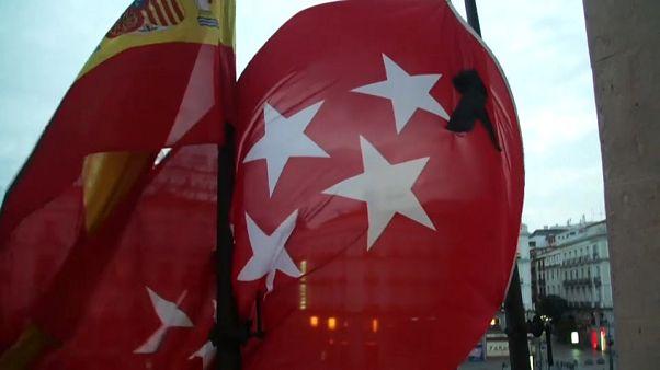 Madrid inicia un luto oficial por sus 3400 víctimas del coronavirus