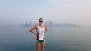 Egy év plusz az olimpiai felkészülésre - interjú egy fiatal magyar triatlonistával
