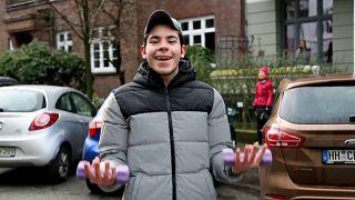 Αμβούργο: Γυμναστική στο μπαλκόνι