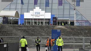 Конгресс-центр в Лондоне станет полевым госпиталем.