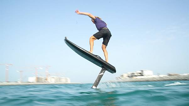 Flying on water - James O'Hagan tries out the latest addition to the surfing family