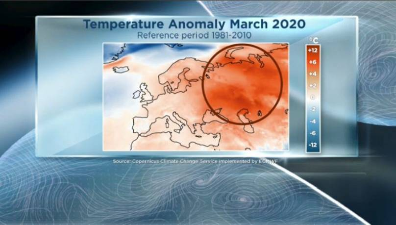 Copernicus Climate Change Service implemented by ECMWF / Euronews