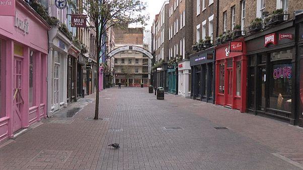 تصاویر پهپادی از خیابانهای سوت و کور فلورانس، ورشو و لندن