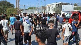 Μυτιλήνη: Πυρκαγιά κατέστρεψε τις εγκαταστάσεις ΜΚΟ