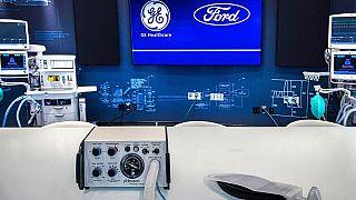 Ford ve General Electric 100 günde 50 bin solunum cihazı üretmek için kolları sıvadı