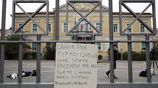 Italy Virus Outbreak