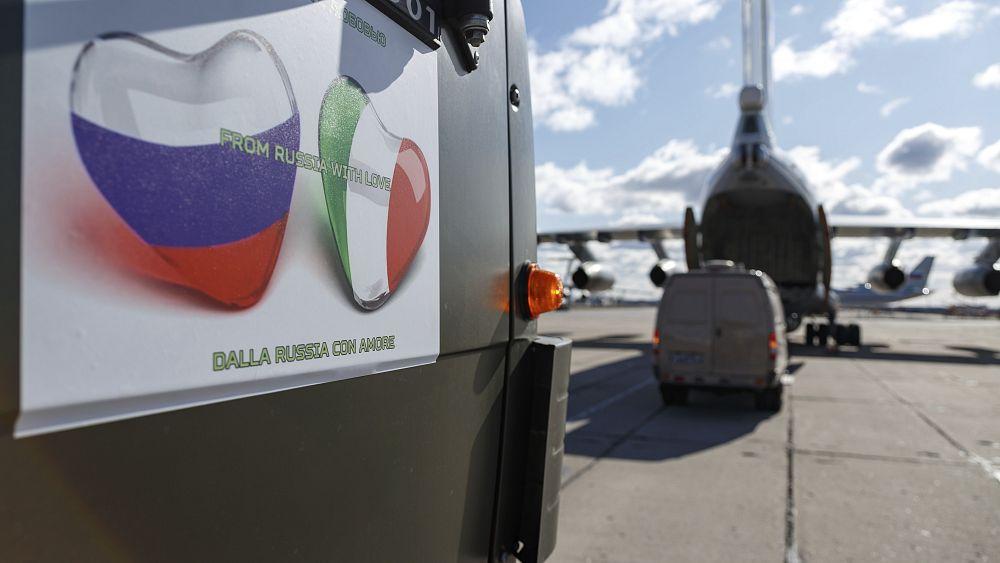 Los vuelos de carga permanecen en el aire a medida que el tráfico aéreo europeo desaparece durante la pandemia 59